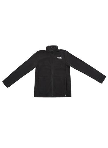 The North Face Snow Quest Fullzip Çocuk Sweatshirt Siyah Renkli